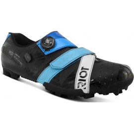 RIOT MTB + BOA CYCLING SHOE BLACK / BLUE