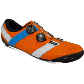 VAYPOR + CYCLING SHOE ORANGE / ALPHA BLUE