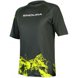 SingleTrack Print T Mountains