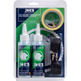 Joe's No Flats Eco Sealant Tubeless Conversion Kit - XC Narrow FV