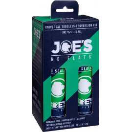 Joe's No Flats Eco Sealant Universal Tubeless Kit
