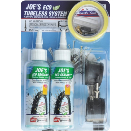 Joe's No Flats Tubeless System XC Narrow Presta Valve 15-17mm