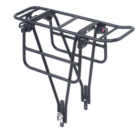 AX2 Xtra duty rack with tool free folding wings for wide loads