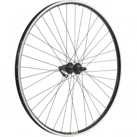Shimano Deore / Mavic A319 black / DT Swiss P/G 36 hole rear wheel
