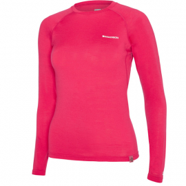 Isoler Merino women's long sleeve baselayer  rose red size 10
