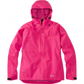 Leia women's waterproof jacket  rose red size 12