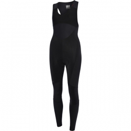 Sportive women's DWR bib tights  black size 8