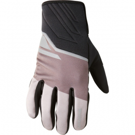 Sprint men's softshell gloves  flame black blocks small
