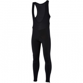 Stellar men's bib tights with pad  black medium