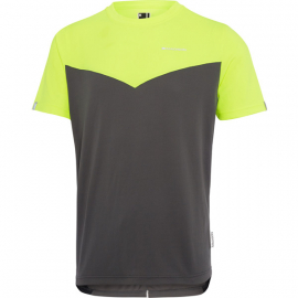 Stellar men's short sleeve jersey  hi-viz yellow / dark shadow small