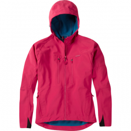 Zena women's softshell jacket  rose red size 14