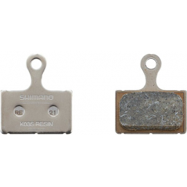 K03S disc brake pads and spring  steel backed  resin