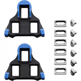 SM-SH12 SPD SL-Cleats   Front Pivot Floating   Blue