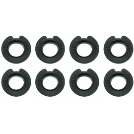 SKS REPLACEMENT 8 X HARD PLASTIC 5MM SPACERS FOR DISC BRAKES: