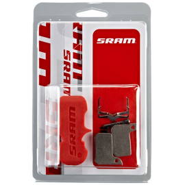 SRAM BRAKE PADS SINTERED/STEEL (INCLUDES GUIDE PIN  CLIP & PAD SPREADER) - SRAM HYDRAULIC ROAD SRAM - AVID   LEVEL ULTIMATE/TLM: